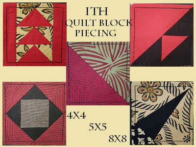 In The Hoop Quilt Block Piecing