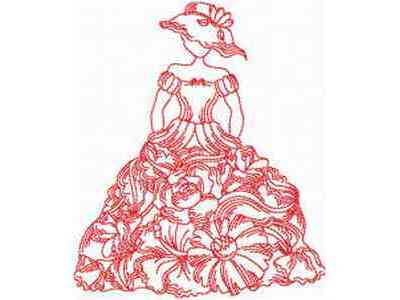 Victorian Wedding Gown on Buy Individual Embroidery Designs From The Set Jn Victorian Dresses