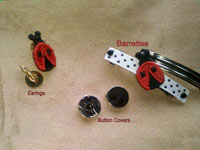 Ladybug Beads and Things Machine Embroidery Designs