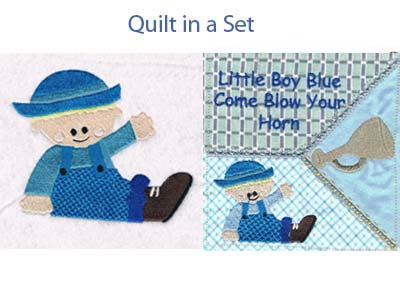 Little Boy Blue Machine Embroidery Designs