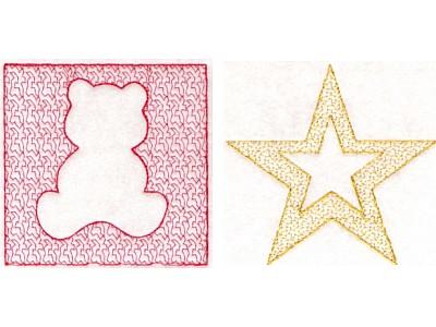 machine embroidery stippling designs