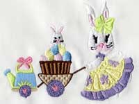 Mrs Bunny Machine Embroidery Designs