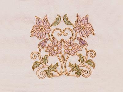Art Nouveau Borders Machine Embroidery Designs Set 4x4 | eBay