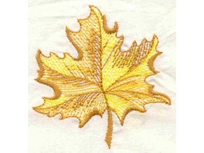 Openwork Fall Leaves Embroidery Machine Design