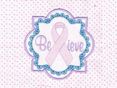 Pink Ribbon Blocks