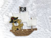 Pirate Bears Machine Embroidery Designs