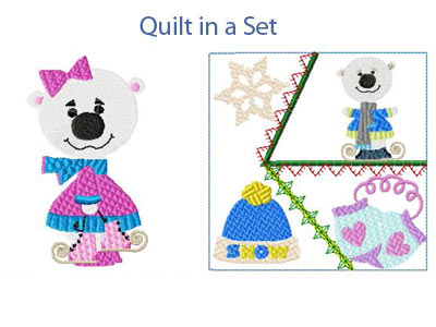 Free bear applique patterns