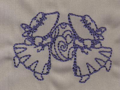 Redwork Easter Bonnets 2 Machine Embroidery Designs