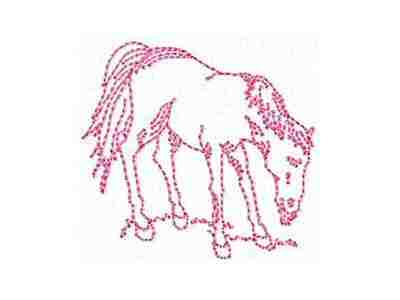 DD Realistic Horses Machine Embroidery Designs