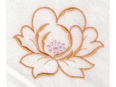 satin stitch machine embroidery