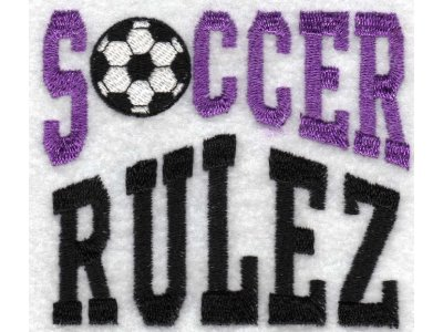 Soccer Machine Embroidery Designs