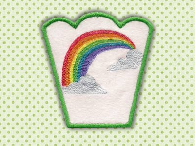 Spring Bowls Machine Embroidery Designs