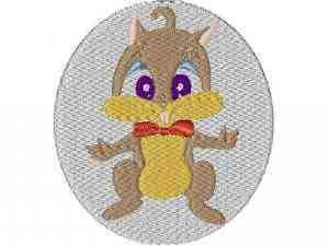 Squirrel Patches Machine Embroidery Designs