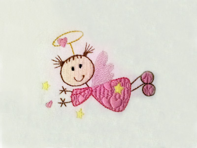 Sticky Angels Machine Embroidery Designs