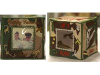 Summer Holiday Photo Cubes Machine Embroidery Designs