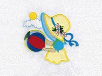 Summertime Sunbonnet Girls Machine Embroidery Designs