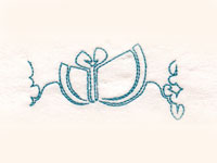 Endless Sunbonnet Border Machine Embroidery Designs