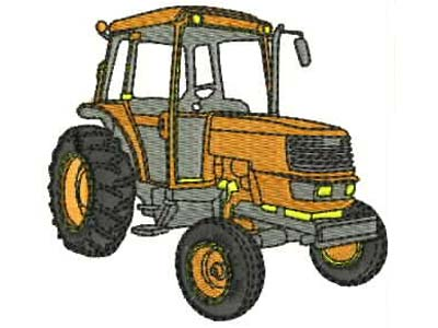 Tractors Machine Embroidery Designs
