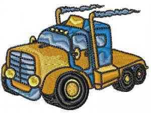 Trucks Machine Embroidery Designs
