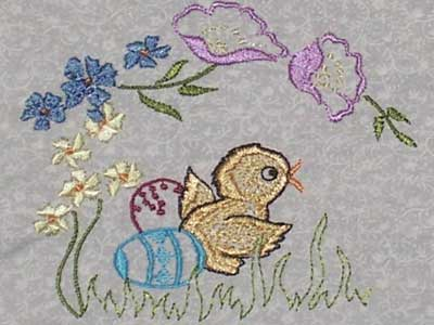 Vintage Easter Machine Embroidery Designs
