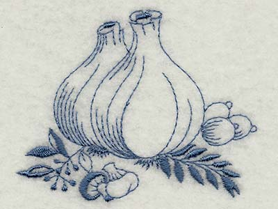 Vintage Kitchen 2 Machine Embroidery Designs