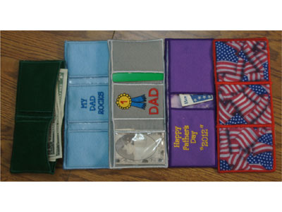 Wallets Machine Embroidery Designs