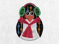 Winter Penguins Machine Embroidery Designs