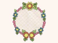 Sweet Friendship Cross Stitch Machine Embroidery Designs