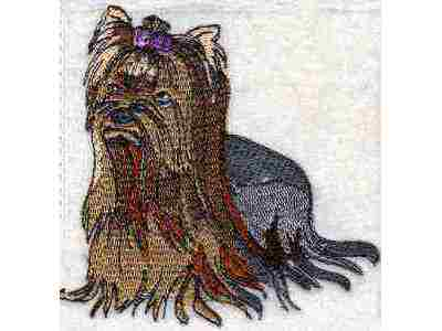 Yorkies Machine Embroidery Designs