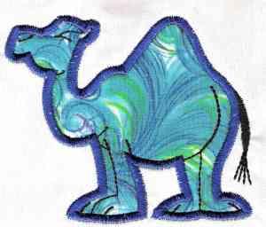 Crochetpedia: 2D Crochet Camel Applique - blogspot.com