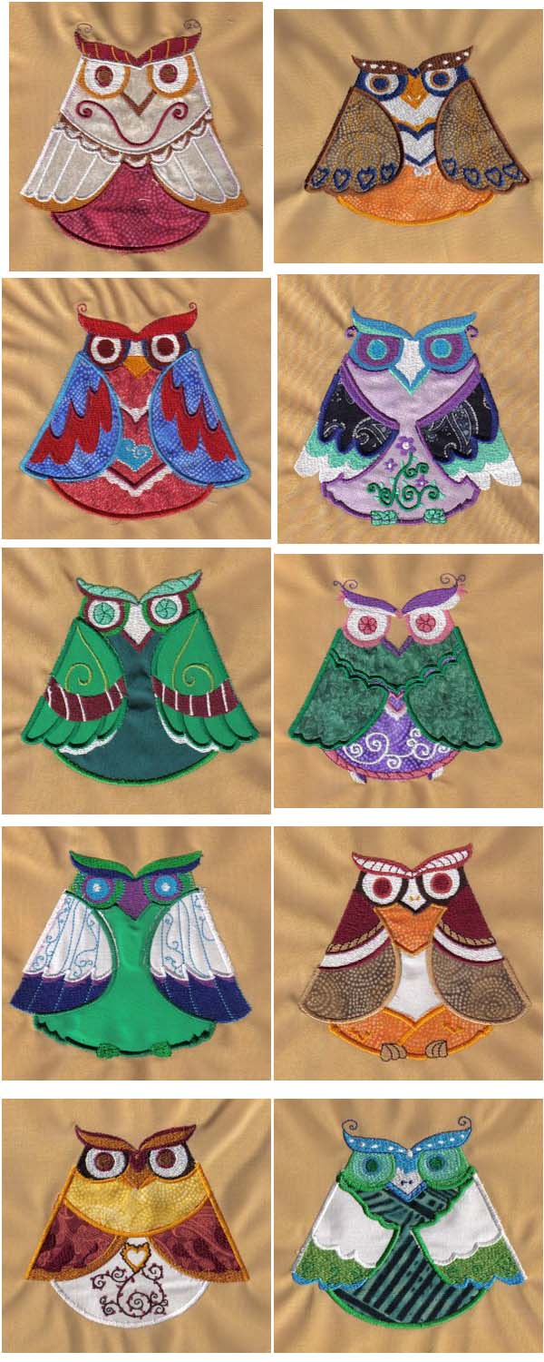 FREE MACHINE EMBROIDERY APPLIQUE DESIGNS