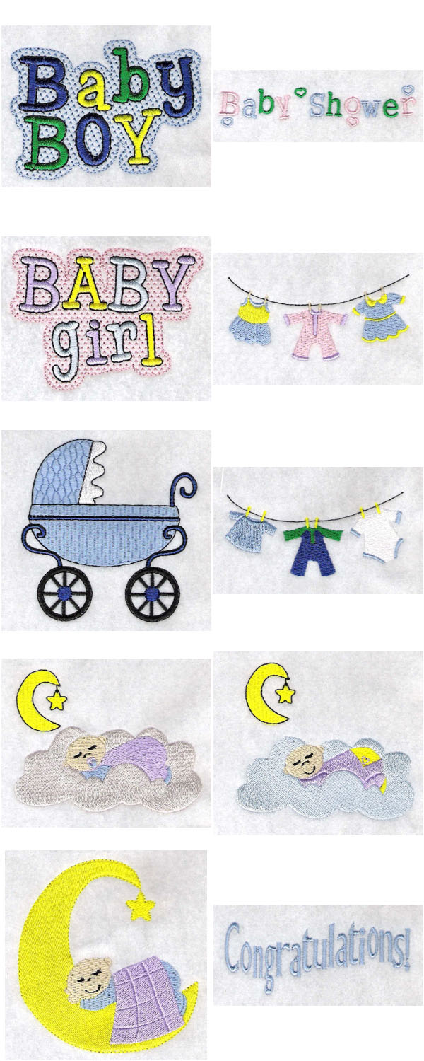 FREE BABY MACHINE EMBROIDERY DESIGN