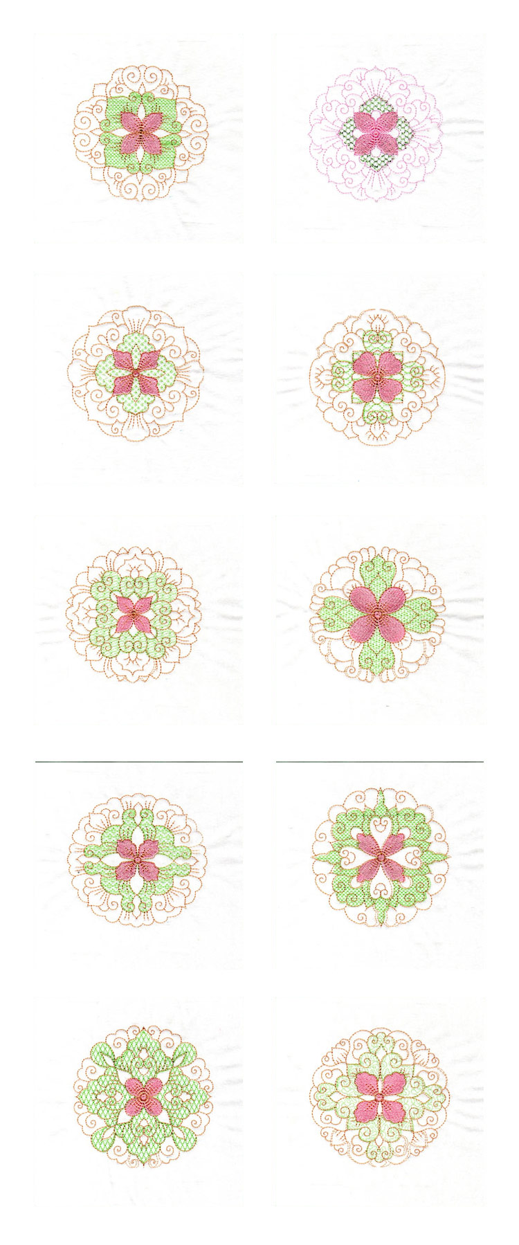 Quilt Blocks 3 Embroidery Machine Design Details