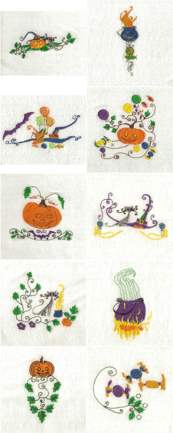 Halloween - Holidays & Seasons - Design Collections - Embroidery