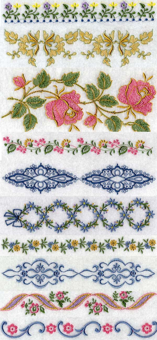 Christmas Machine Embroidery Designs - Page 1