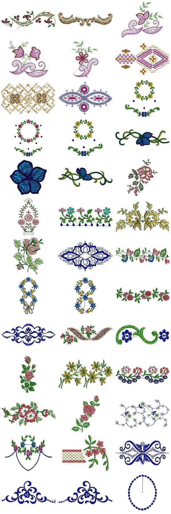 Linens 4x4 Embroidery Machine Design Details