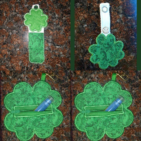 Luck O the Irish Embroidery Machine Design Details