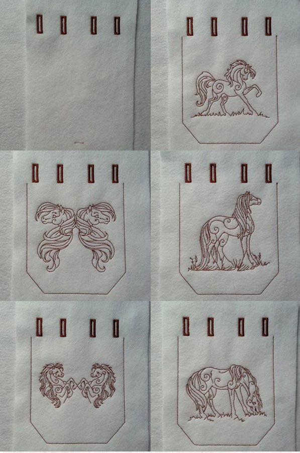 Luv For Horses Embroidery Machine Design Details