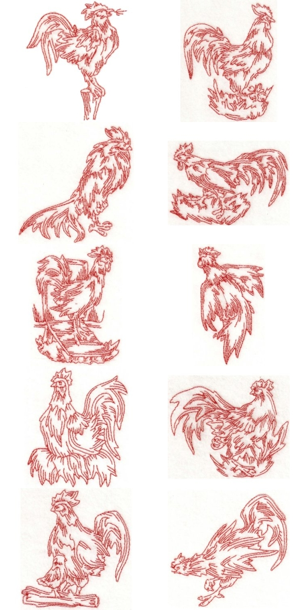 FREE EMBROIDERY DESIGN ROOSTER
