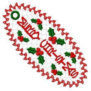 Holly Jolly Bookmarks