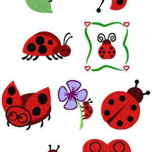 Ladybugs On Parade