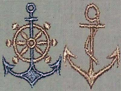 Anchors Away Embroidery Machine Design