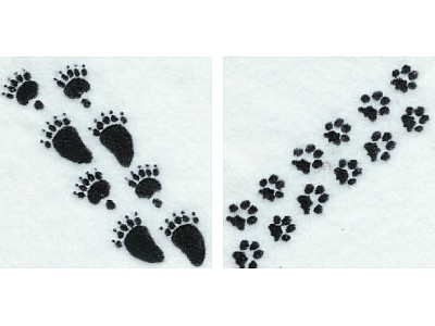 Animal Prints Embroidery Machine Design