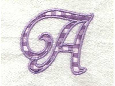 Alphabet Embroidery Designs
