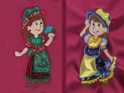 I get my country from my mama applique embroidery design