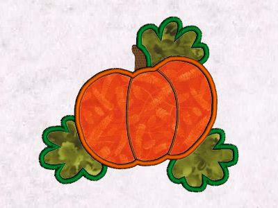 Machine Embroidery Designs Applique Fall Time Set