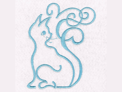 Aristocats Embroidery Machine Design