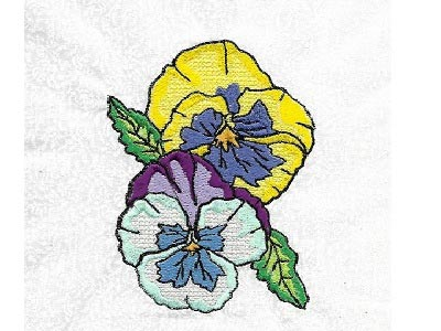Beautiful Flower Sprays Embroidery Machine Design