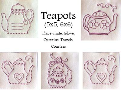 Candlewick Teapots