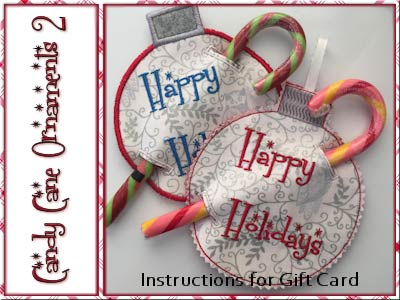 Candy Cane Ornaments 2